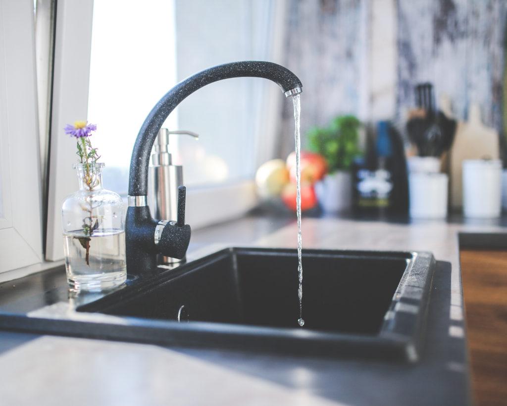 newly updated kitchen sink